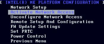 Activate Network Access