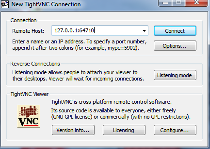 AMT TightVNC port