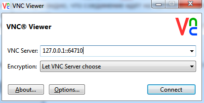 AMT RealVNC port